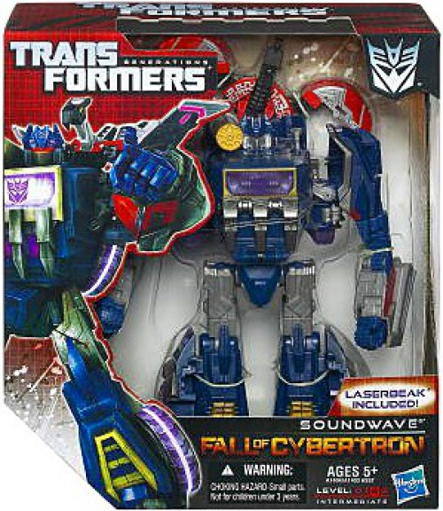 Transformers Generations Fall of Cybertron Soundwave Voyager Action Figure