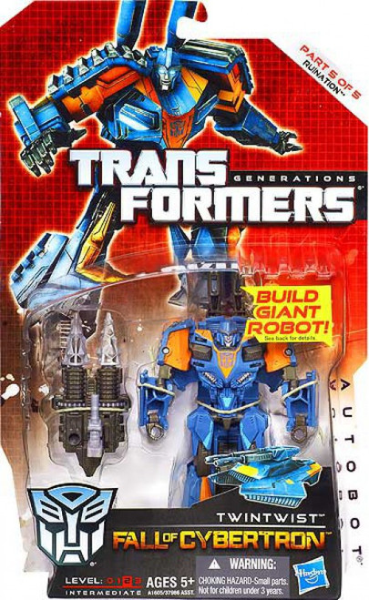 Transformers Generations Fall of Cybertron Twintwist Deluxe Action Figure