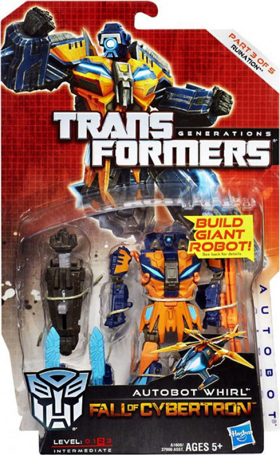 Transformers Generations Fall of Cybertron Autobot Whirl Deluxe Action Figure