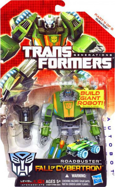 Transformers Generations Fall of Cybertron Roadbuster Deluxe Action Figure