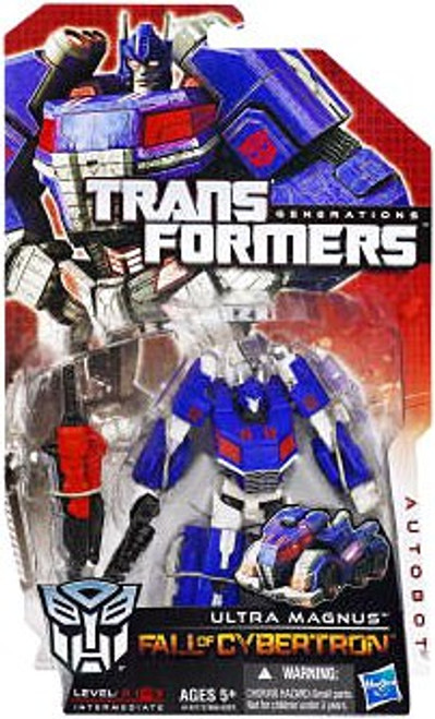Transformers Generations Fall of Cybertron Ultra Magnus Deluxe Action Figure [Damaged Package]