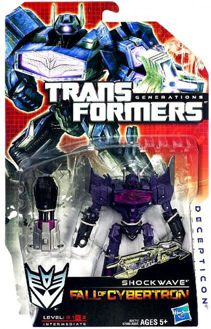Transformers Generations Fall of Cybertron Shockwave Deluxe Action Figure [Damaged Package]
