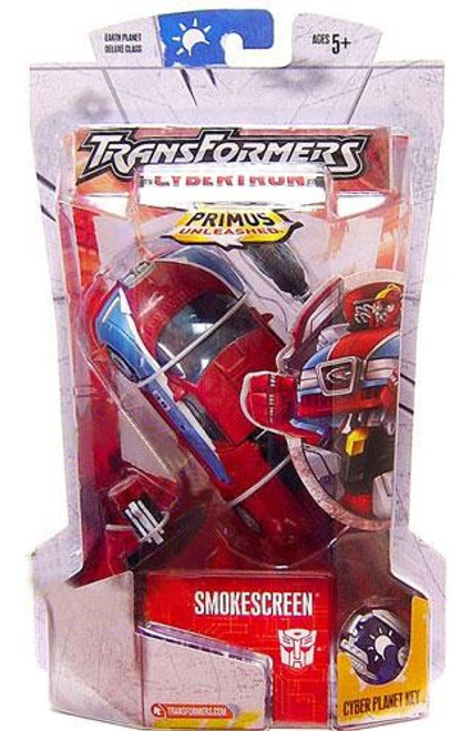Transformers Cybertron Primus Unleashed Smokescreen Deluxe Action Figure [Damaged Package]