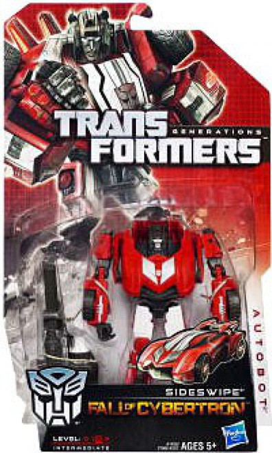 Transformers Generations Fall of Cybertron Sideswipe Deluxe Action Figure [Damaged Package]