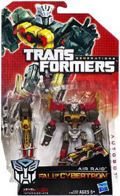 Transformers Generations Fall of Cybertron Air Raid Deluxe Action Figure [Damaged Package]