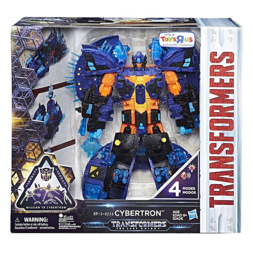 Transformers The Last Knight Converting Cybertron Planet Exclusive Planet Action Figure
