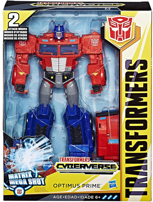 Transformers Cyberverse Optimus Prime Ultimate Action Figure [Matrix Mega Shot]