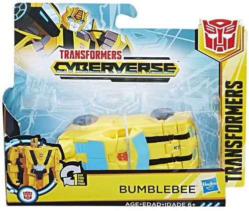 """Transformers Cyberverse 1 Step Changer Bumblebee 4.25"""" Action Figure [2018]"""