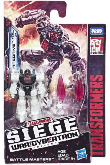 Transformers Generations War for Cybertron: Siege Firedrive Battle Master Action Figure WFC-S1