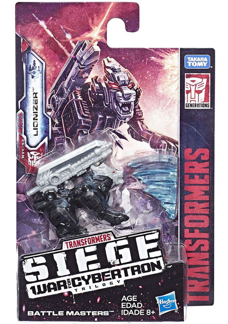 Transformers Generations Siege: War for Cybertron Trilogy Lionizer Battle Master Action Figure WFC-S2