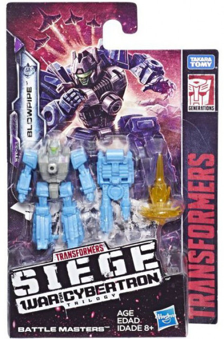 Transformers Generations War for Cybertron: Siege Blowpipe Battle Master Action Figure WFC-S3