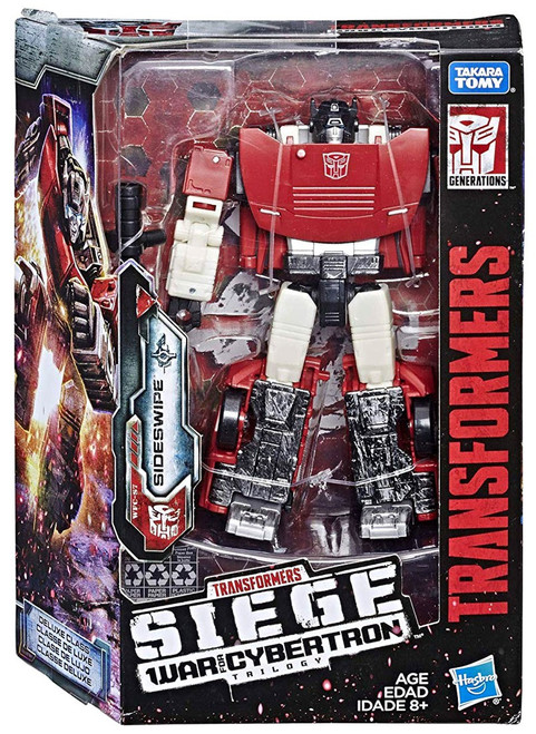 Transformers Generations War for Cybertron: Siege Sideswipe Deluxe Action Figure WFC-S10