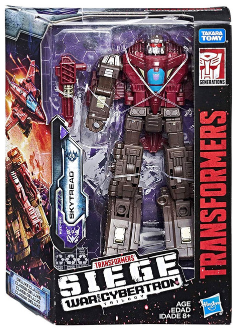 Transformers Generations Siege: War for Cybertron Trilogy Skytread Deluxe Action Figure WFC-S7