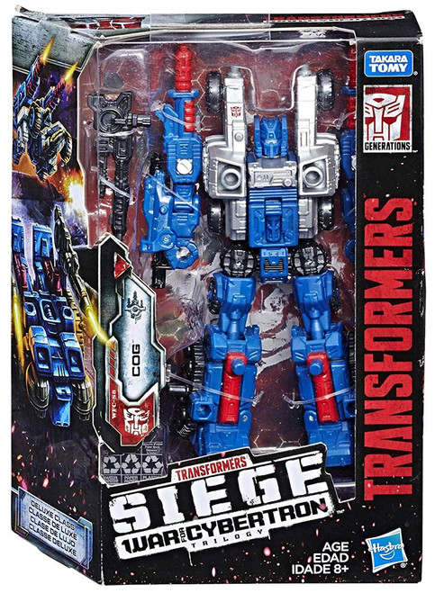 Transformers Generations Siege: War for Cybertron Trilogy Cog Deluxe Action Figure WFC-S8