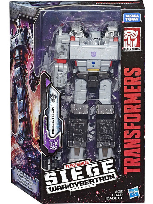 Transformers Generations Siege: War for Cybertron Trilogy Megatron Voyager Action Figure WFC-S12