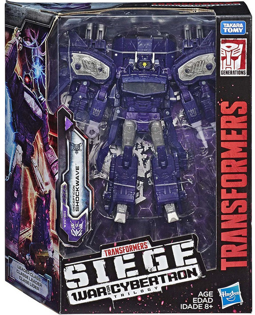 Transformers Generations War for Cybertron: Siege Shockwave Leader Action Figure WFC-S14