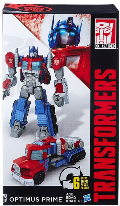 "Transformers Generations Cyber Commander Optimus Prime 11"" Action Figure"
