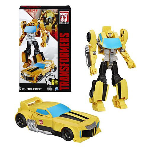 "Transformers Generations Cyber Commander Bumblebee 11"" Action Figure"