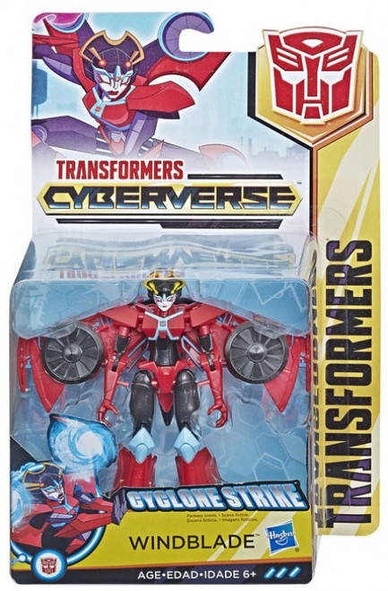 Transformers Cyberverse Windblade Warrior Action Figure