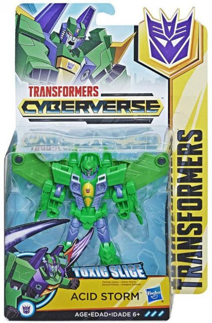 Transformers Cyberverse Acid Storm Warrior Action Figure