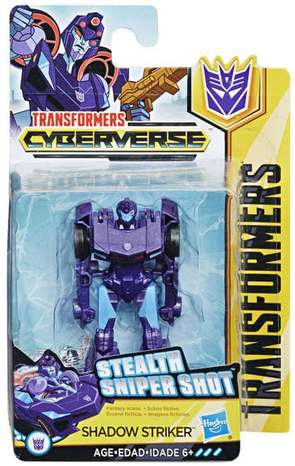 Transformers Cyberverse Shadow Striker Scout Action Figure