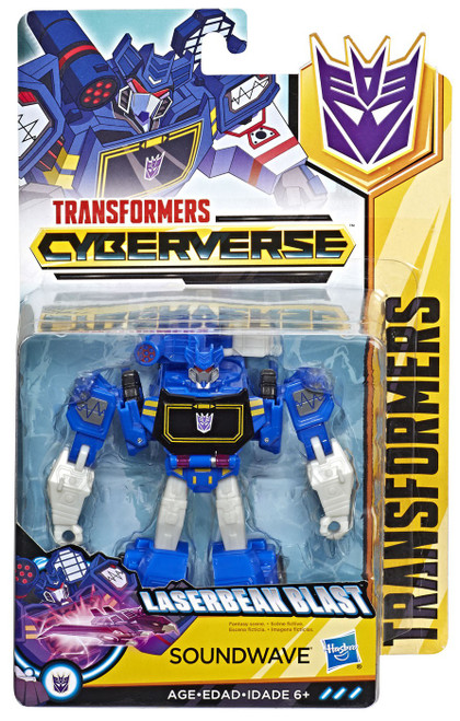 Transformers Cyberverse Soundwave Warrior Action Figure