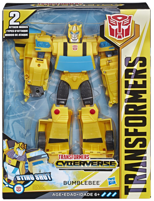 Transformers Cyberverse Ultimate Bumblebee Ultimate Action Figure