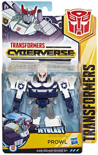 Transformers Cyberverse Prowl Warrior Action Figure [Jetblast]