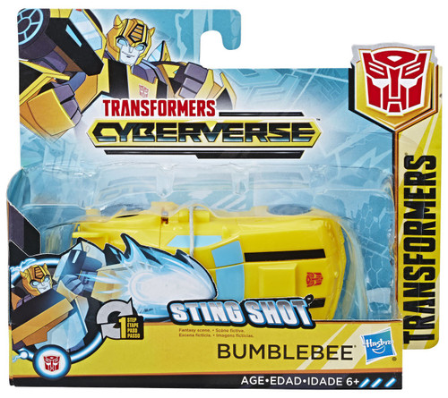 """Transformers Cyberverse 1 Step Changer Bumblebee 4.25"""" Action Figure [2019]"""