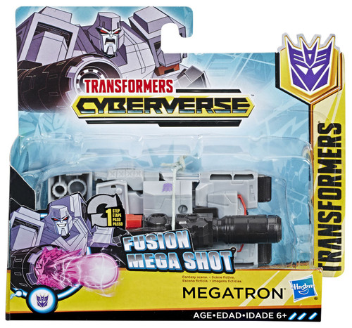 "Transformers Cyberverse 1 Step Changer Megatron 4.25"" Action Figure [2019]"