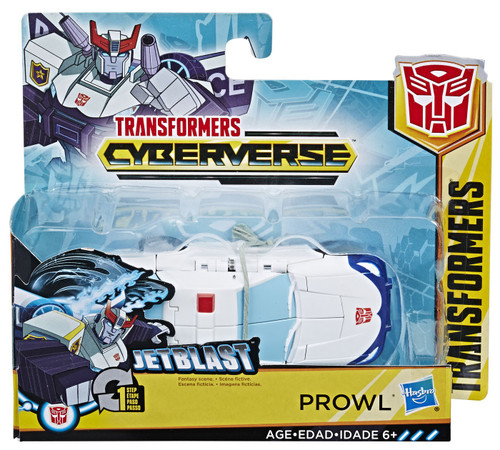 """Transformers Cyberverse 1 Step Changer Prowl 4.25"""" Action Figure [2019]"""