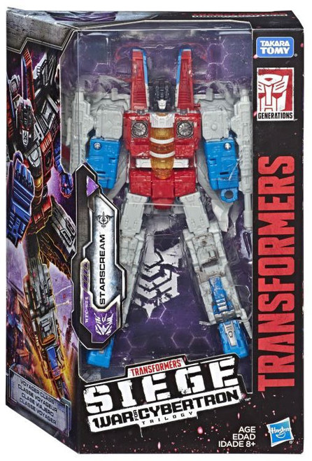 Transformers Generations War for Cybertron: Siege Starscream Voyager Action Figure WFC-S24