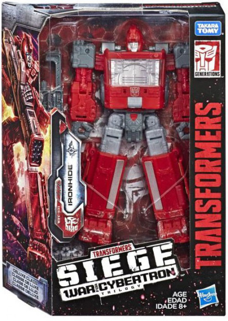 Transformers Generations Siege: War for Cybertron Trilogy Ironhide Deluxe Action Figure WFC-S21