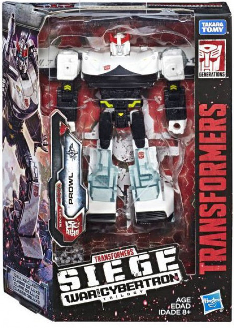 Transformers Generations War for Cybertron: Siege Prowl Deluxe Action Figure
