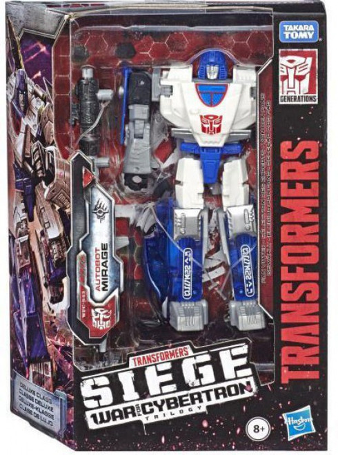 Transformers Generations War for Cybertron: Siege Mirage Deluxe Action Figure WFC-S43
