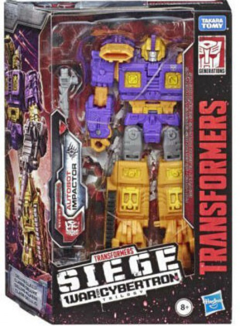 Transformers Generations War for Cybertron: Siege Impactor Deluxe Action Figure WFC-S42