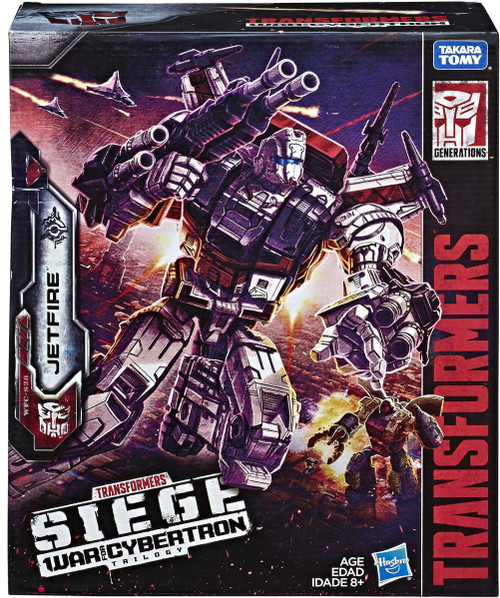 Transformers Generations War for Cybertron: Siege Commander Jetfire Action Figure WFC-S28 (Pre-Order ships January)