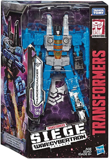 Transformers Generations War for Cybertron: Siege Thundercracker Voyager Action Figure WFC-S39
