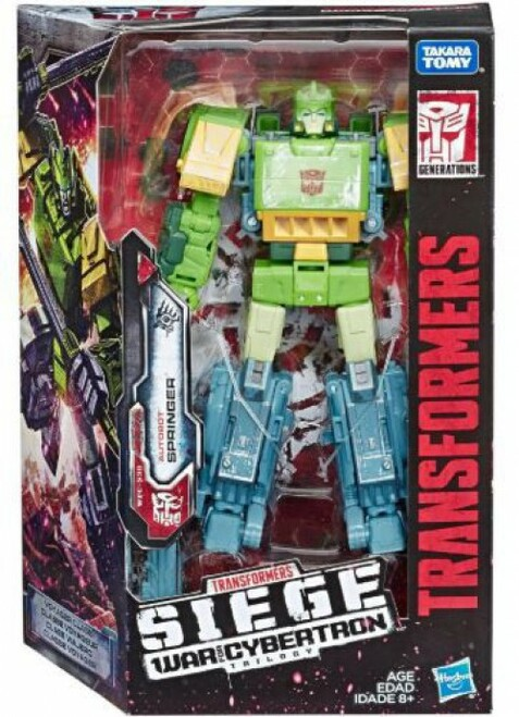 Transformers Generations War for Cybertron: Siege Springer Voyager Action Figure WFC-S38