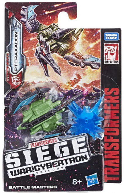 Transformers Generations War for Cybertron: Siege Pteraxadon Battle Master Action Figure