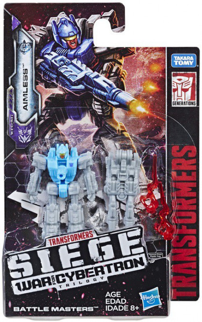 Transformers Generations Siege: War for Cybertron Trilogy Aimless Battle Master Action Figure WFC-S17