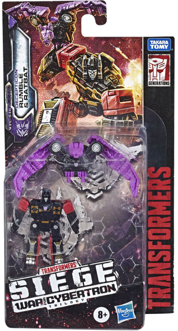 Transformers Generations War for Cybertron: Siege Rumble & Ratbat Micromaster Action Figure 2-Pack (Pre-Order ships November)