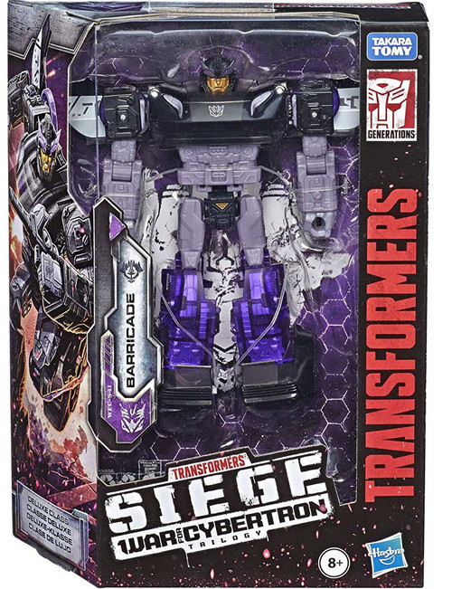 Transformers Generations War for Cybertron: Siege Barricade Deluxe Action Figure WFC-S41