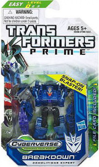 Transformers Prime Cyberverse Breakdown Legion Action Figure [Damaged Package]