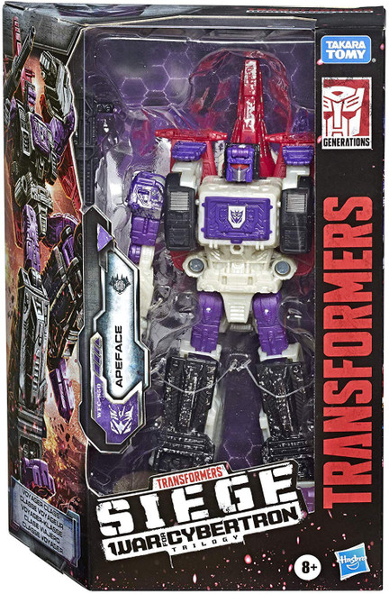 Transformers Generations Siege: War for Cybertron Trilogy Apeface Voyager Action Figure WFC-S50