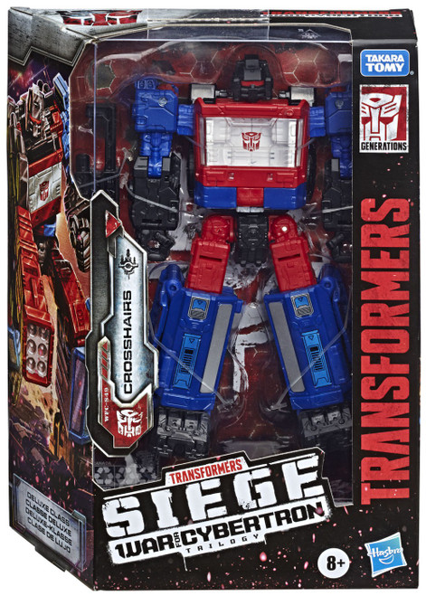 Transformers Generations War for Cybertron: Siege Crosshairs Deluxe Action Figure