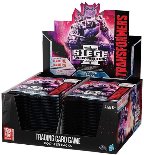 Transformers Generations War for Cybertron Siege 2 Booster Box [30 Packs]
