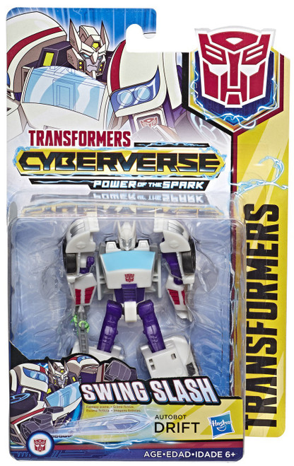 Transformers Cyberverse Power of the Spark Drift Warrior Action Figure