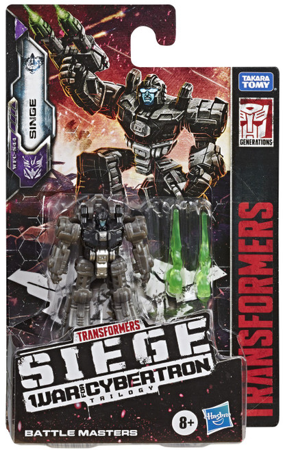 Transformers Generations War for Cybertron: Siege Singe Battle Master Action Figure