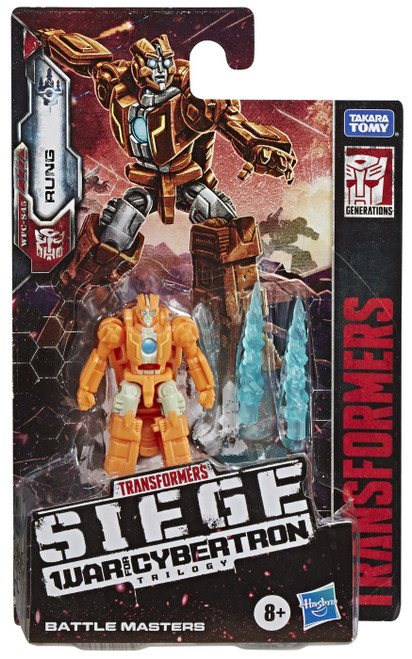 Transformers Generations War for Cybertron: Siege Rung Battle Master Action Figure